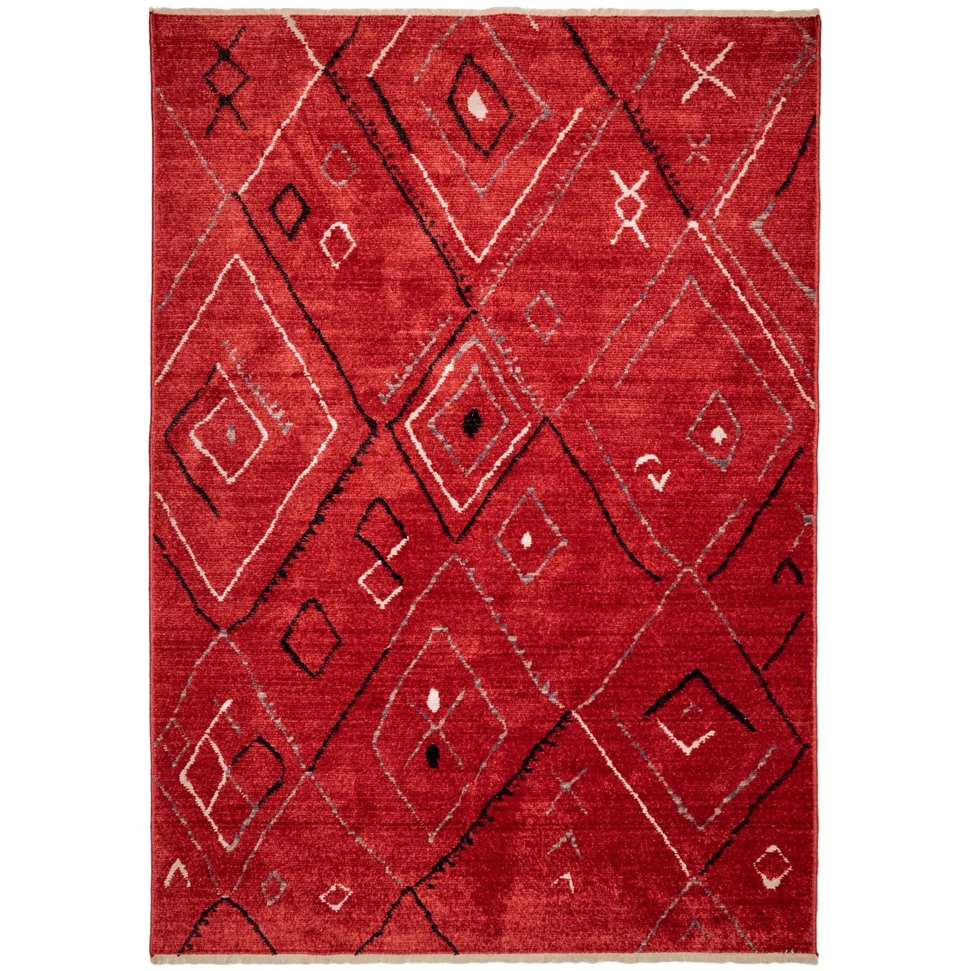 Kerabi No.010 Modern Tribal Rug, 115x80cm