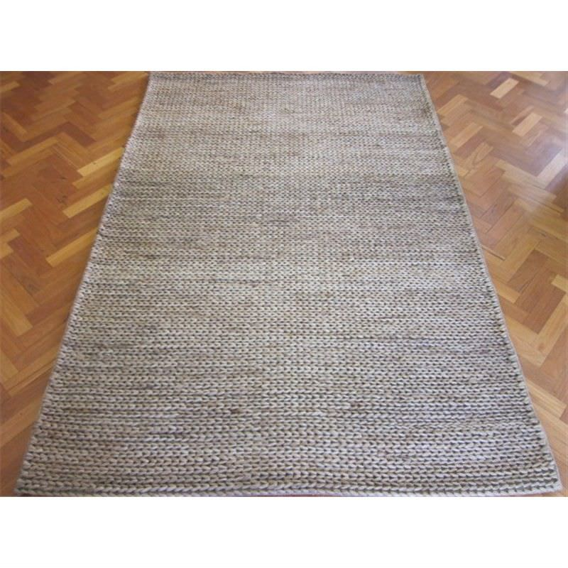 Handwoven Jute Rug 1002 in Grey - 160x230cm