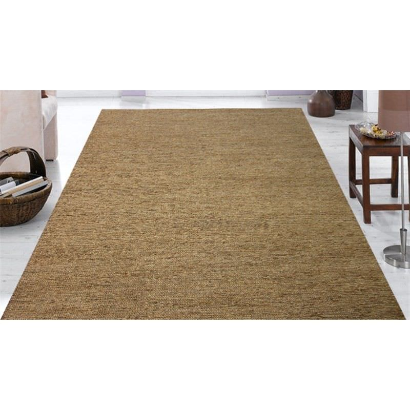 Handwoven Jute Rug 1005 in Natural - 190cm x 280cm