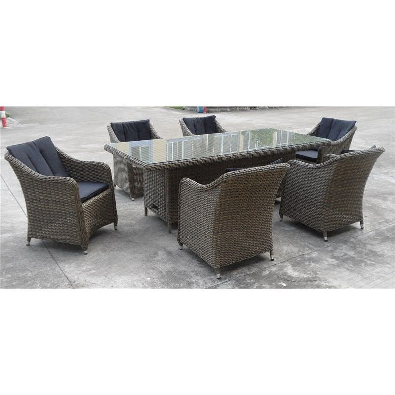 Liverpool 7 Piece Set Rectangular