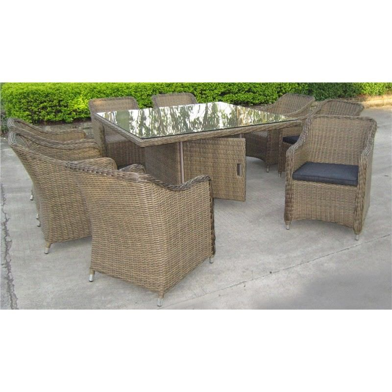 Liverpool 9-Piece Dining Set with 150cm Table
