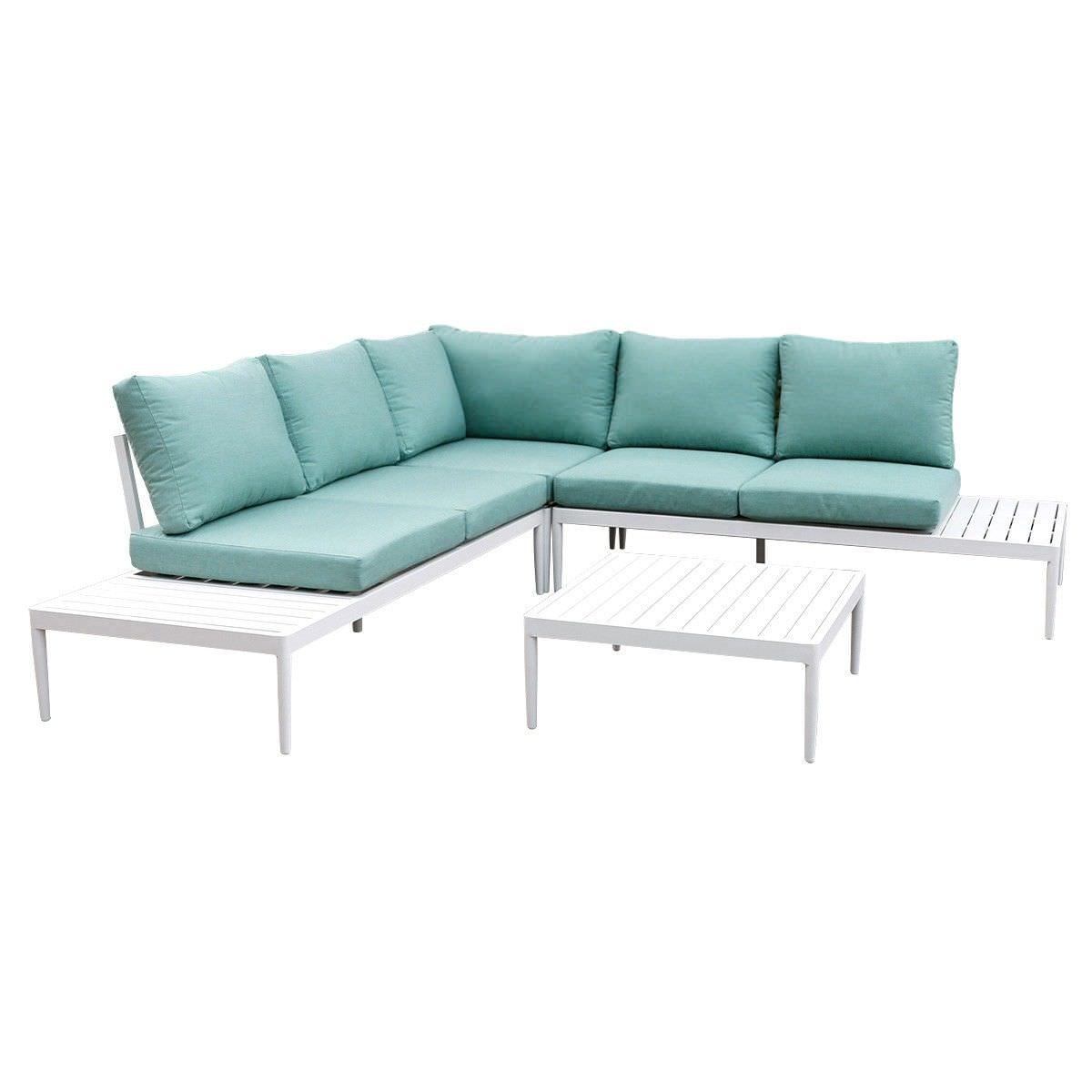 coogee 4 piece aluminium outdoor lounge set. Black Bedroom Furniture Sets. Home Design Ideas