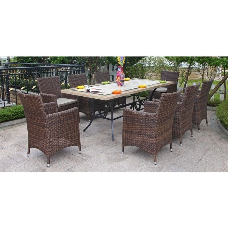 Sorrento 9-Piece Dining Set with 210cm Table - A Design