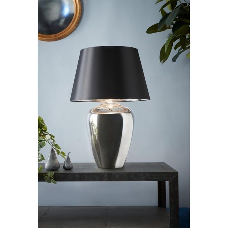Manhattan Ceramic Table Lamp, Large