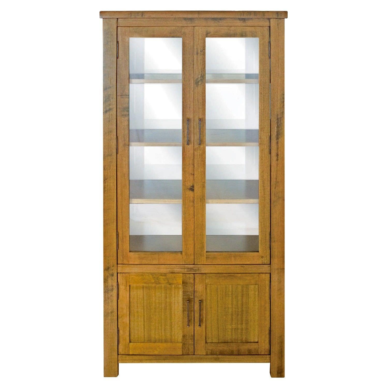 Avoca Tasmanian Oak Timber Display Cabinet