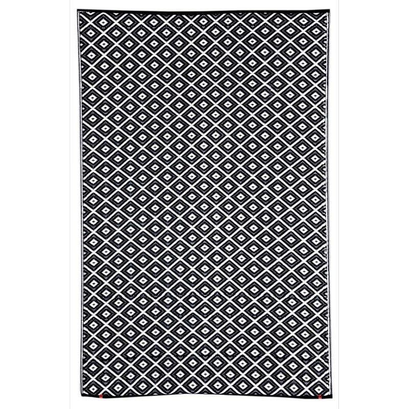Kimberley Outdoor Rug in Black - 120x179cm