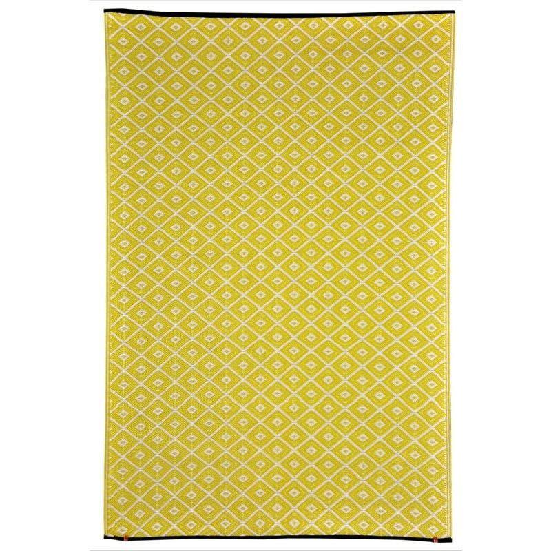 Kimberley Outdoor Rug in Yellow - 120x179cm