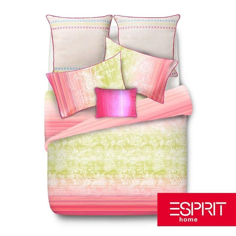 Esprit Adari Queen Size Reversible Cotton Quilt Cover Set