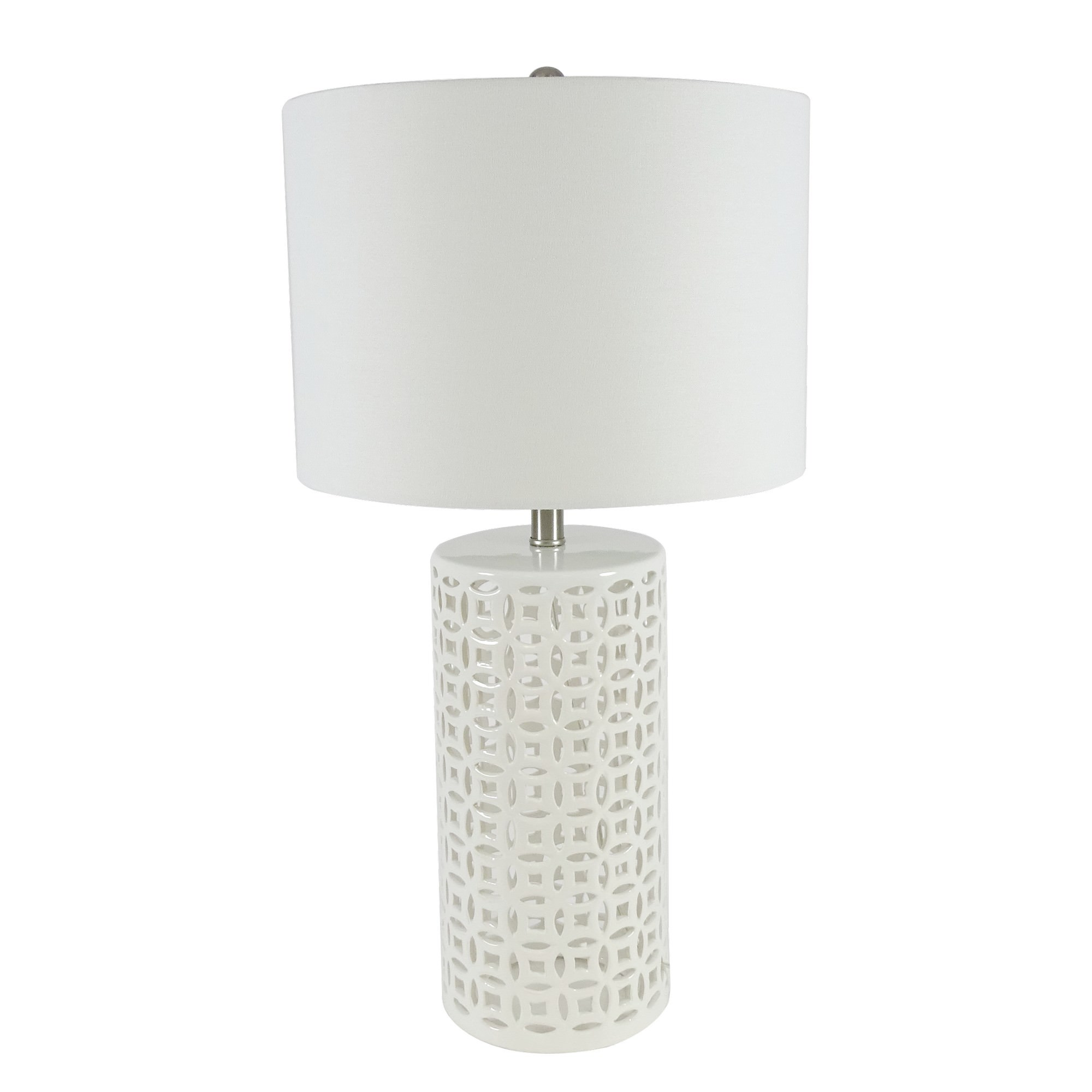 Bianca Ceramic Base Table Lamp