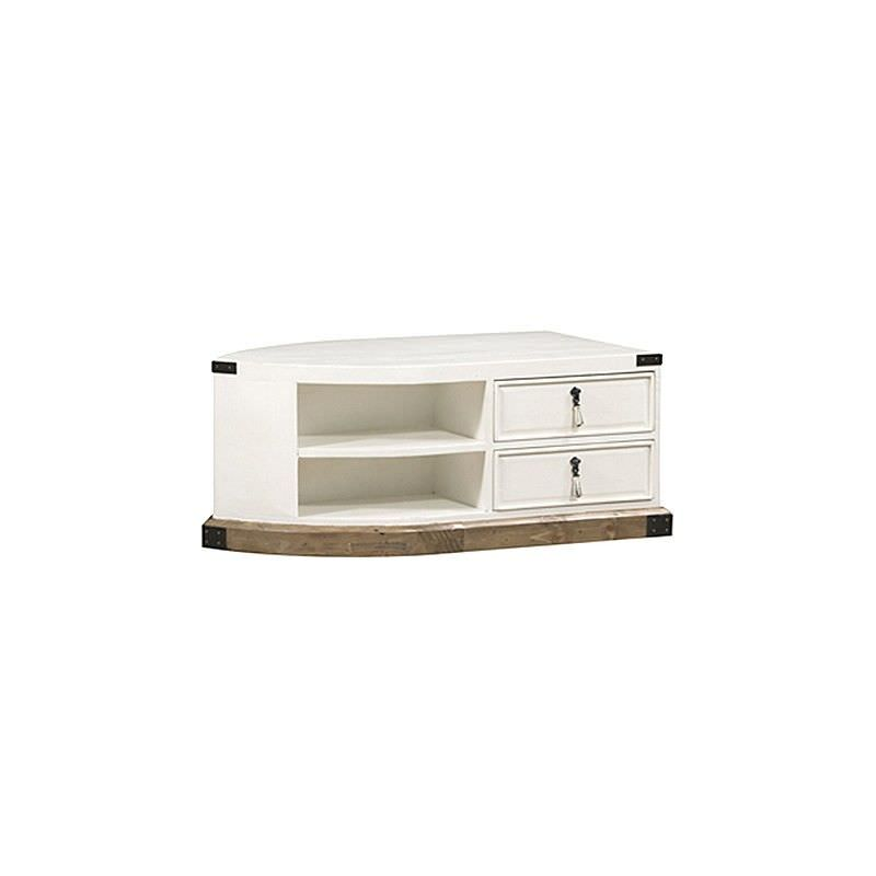 Pine Coffee Table Hull: White Haven Solid Pine Timber 2 Drawer Dinghy Boat 120cm
