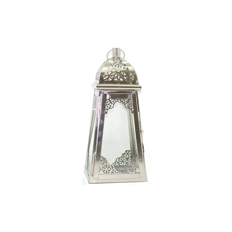 Nickel and Glass Light House Lantern
