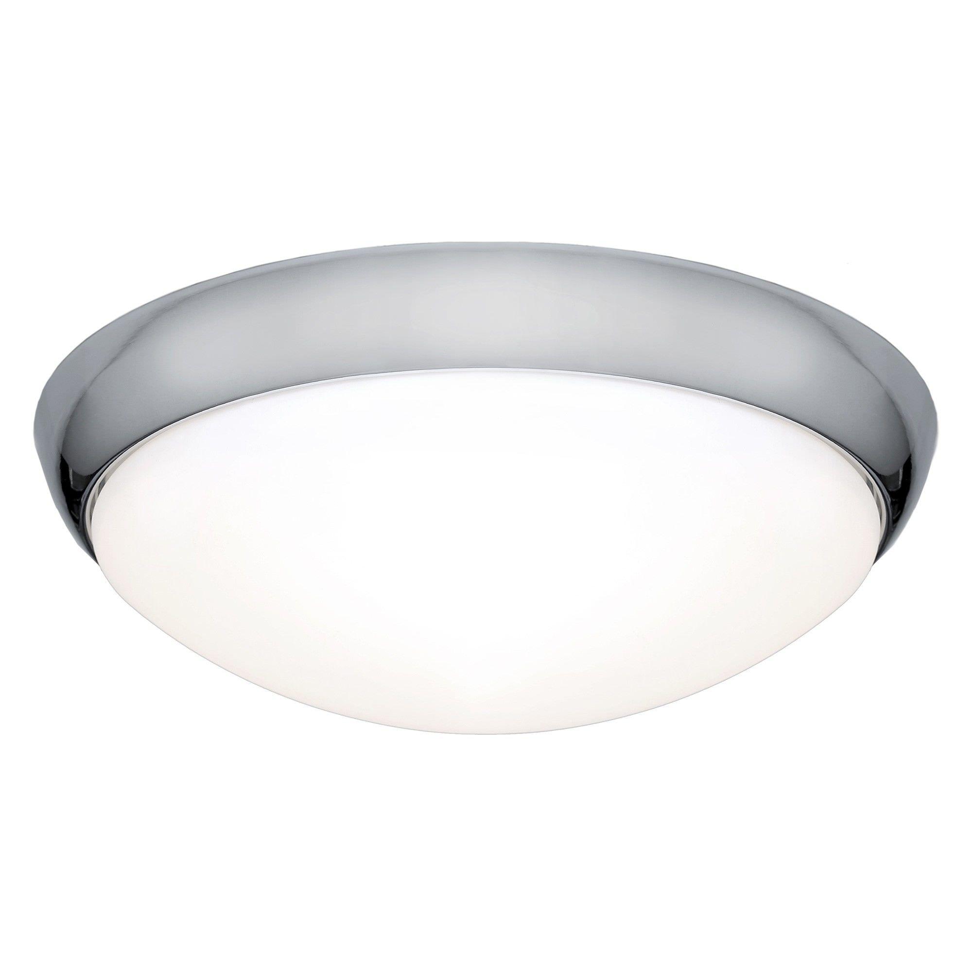 Lancer LED Oyster Light, 27W / 5000K, Chrome