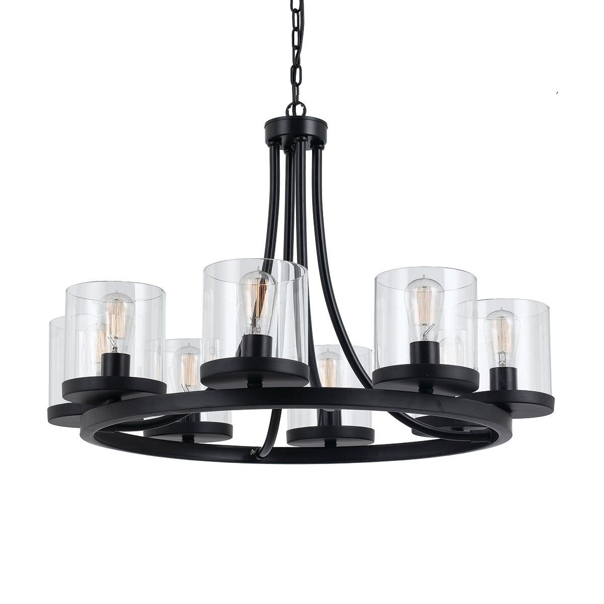 Largo Metal Pendant Light / Chandelier, Large