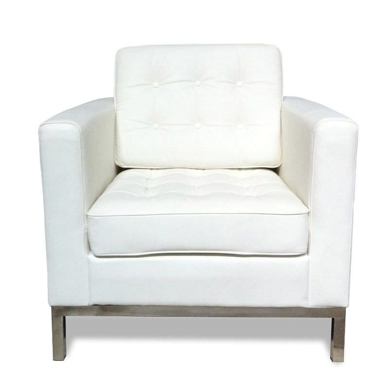Replica Florence Knoll Single Sofa - White
