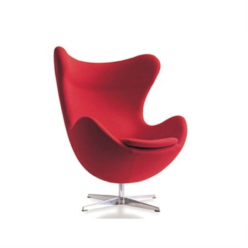 Egg Chair replica - Red