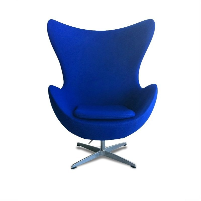 Egg Chair replica - Blue