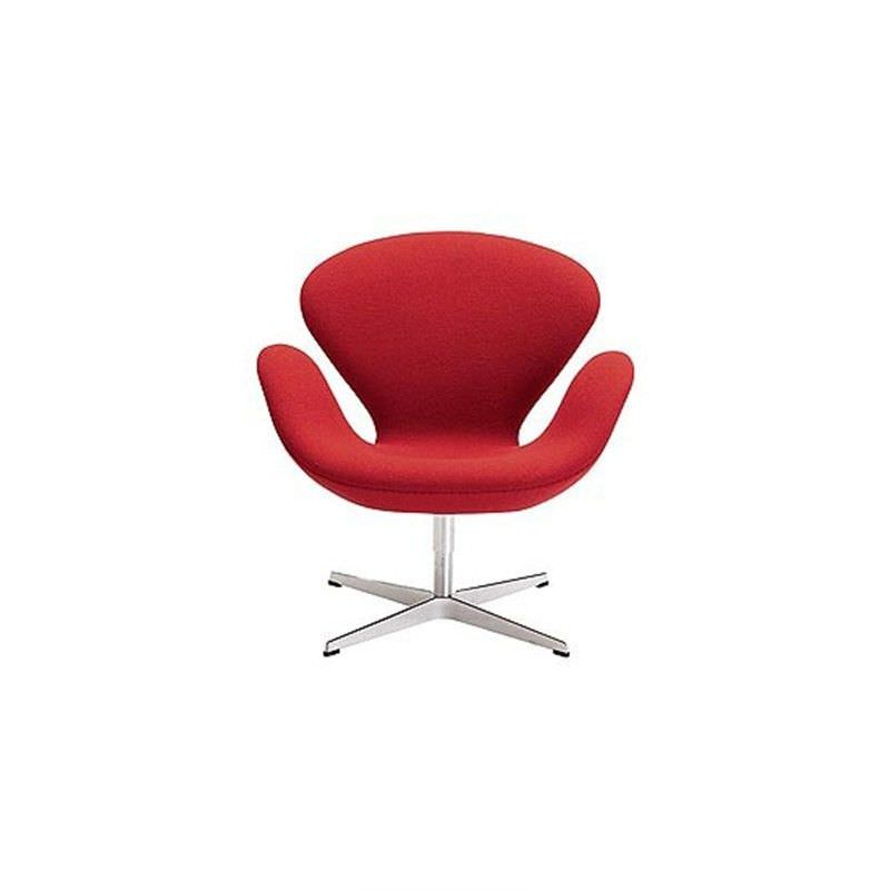Swan Chair replica - Red