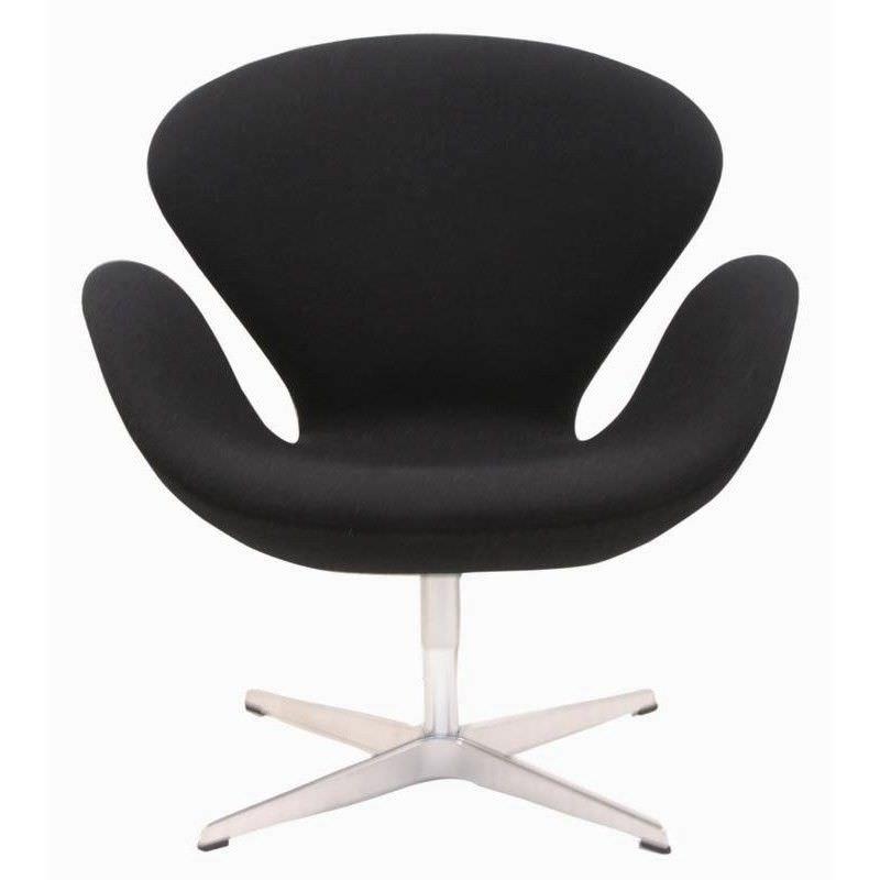 Swan Chair replica - Black