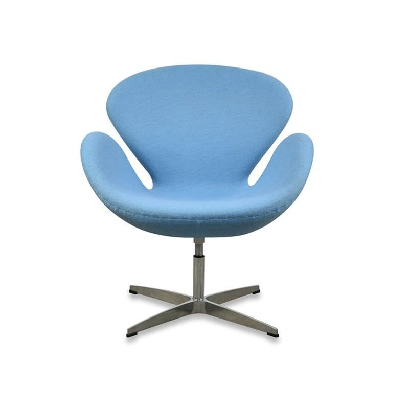 Swan Chair replica - Blue
