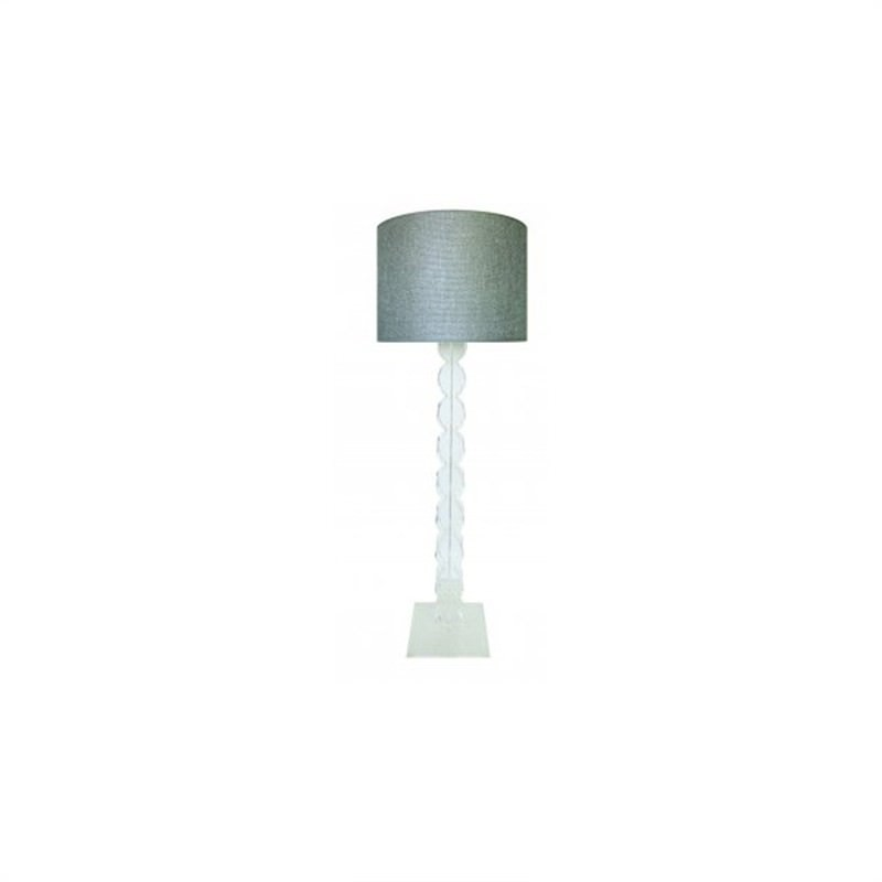 Chantal Floor Lamp - Clear