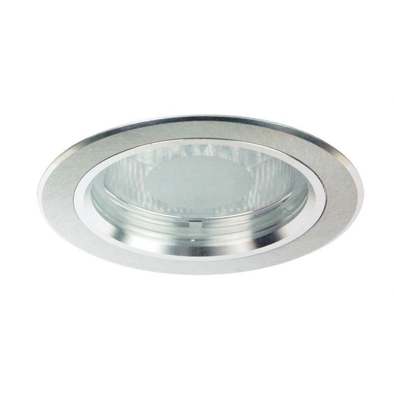 Dida Round Brushed Aluminium Recessed Downlight (Oriel Lighting) (LF4531BA)