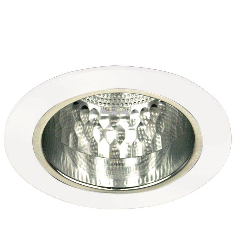 Vida Round Round White Recessed Downlight (Oriel Lighting)