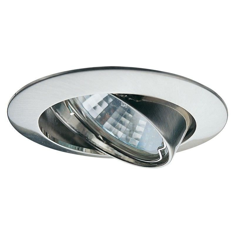 Classic Adjustable Downlight - Satin Chrome (Oriel Lighting)