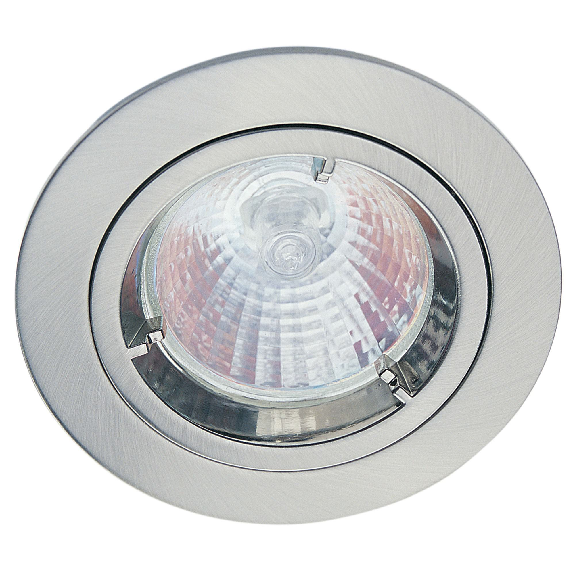 Allison Fixed Downlight Trim, Brushed Chrome (LF4800BCH)
