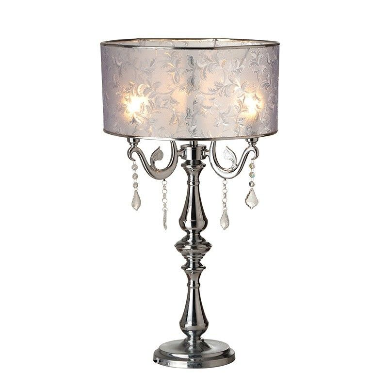 Electra Candelabra Table Lamp with Shade