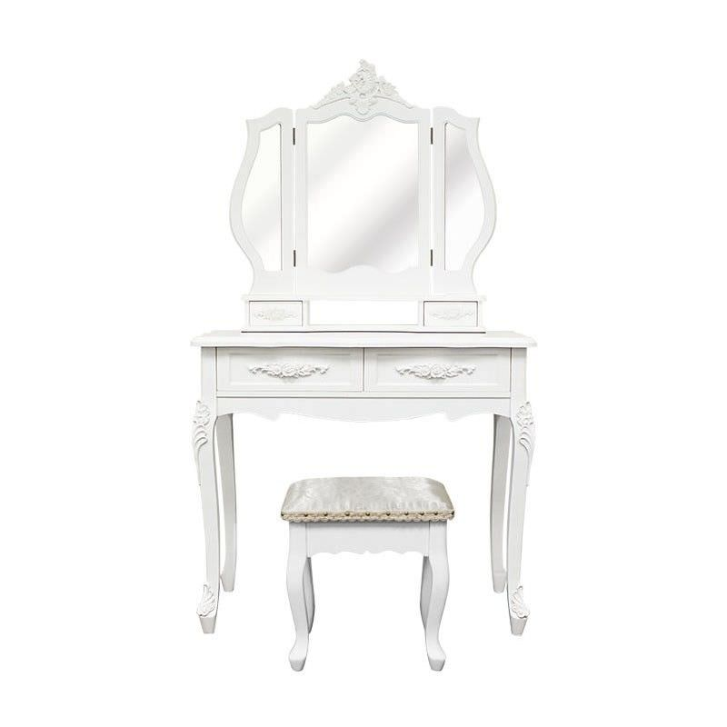 Ecoles Dressing Table with Ecoles Dressing Stool