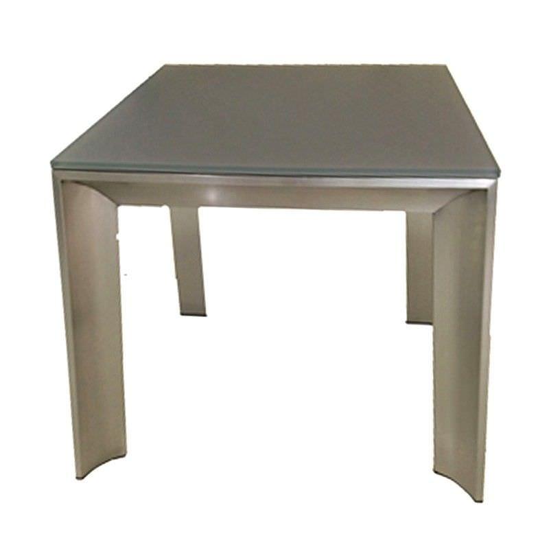Omarosa Glass Top Lamp Table