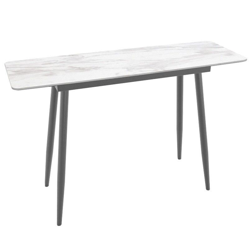 Swayfield Marble Top Console Table, 140cm
