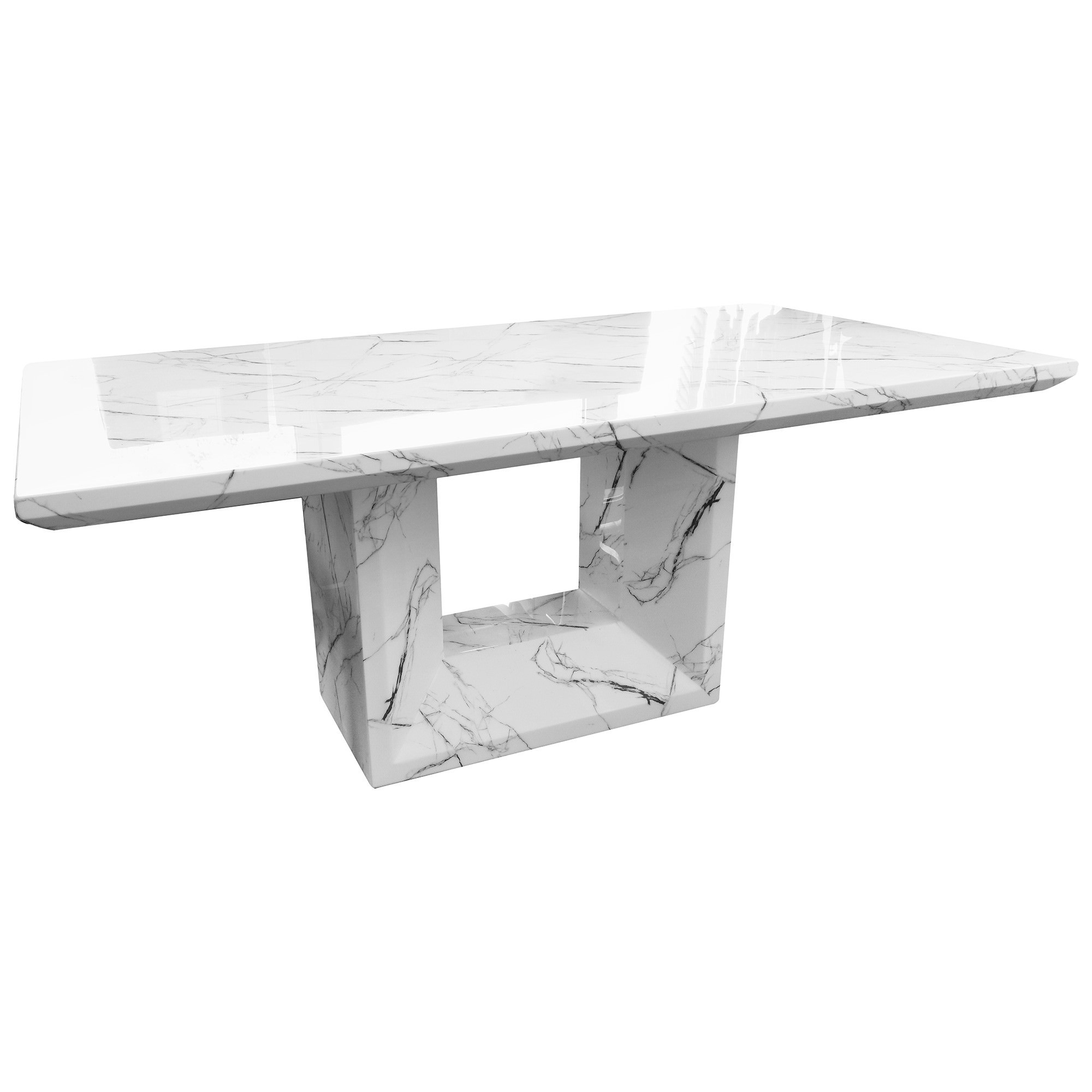 Moreton Marble Dining Table, 200cm