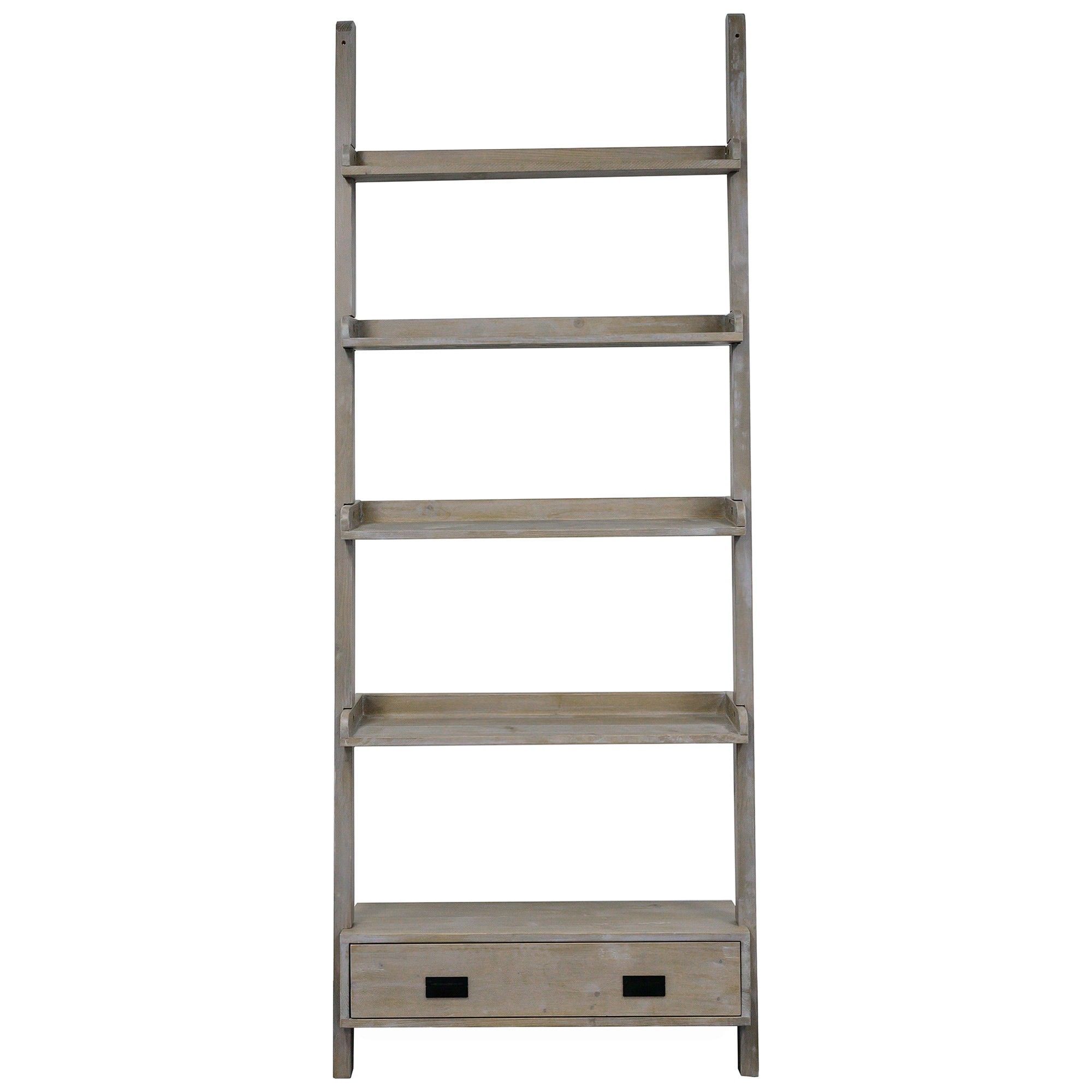 Boden Ash Timber Ladder Display Shelf