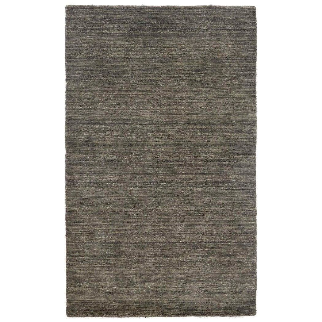 Lille Handwoven Wool Rug, 130x80cm, Stone