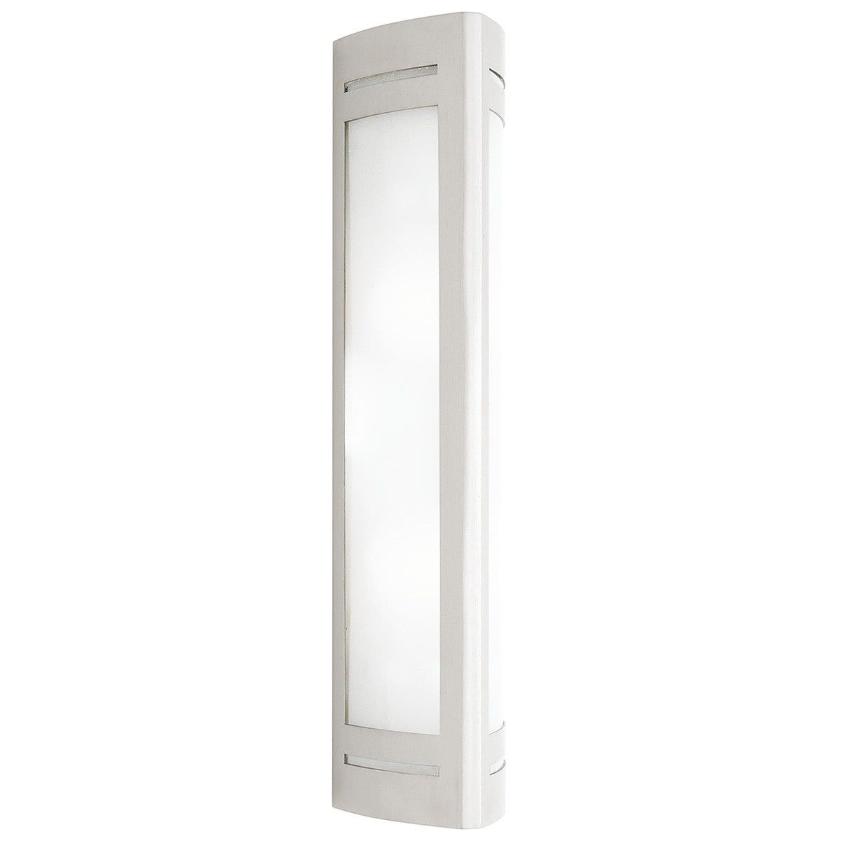 Linear 316 Stainless Steel 2 Light IP44 Outdoor Wall Light