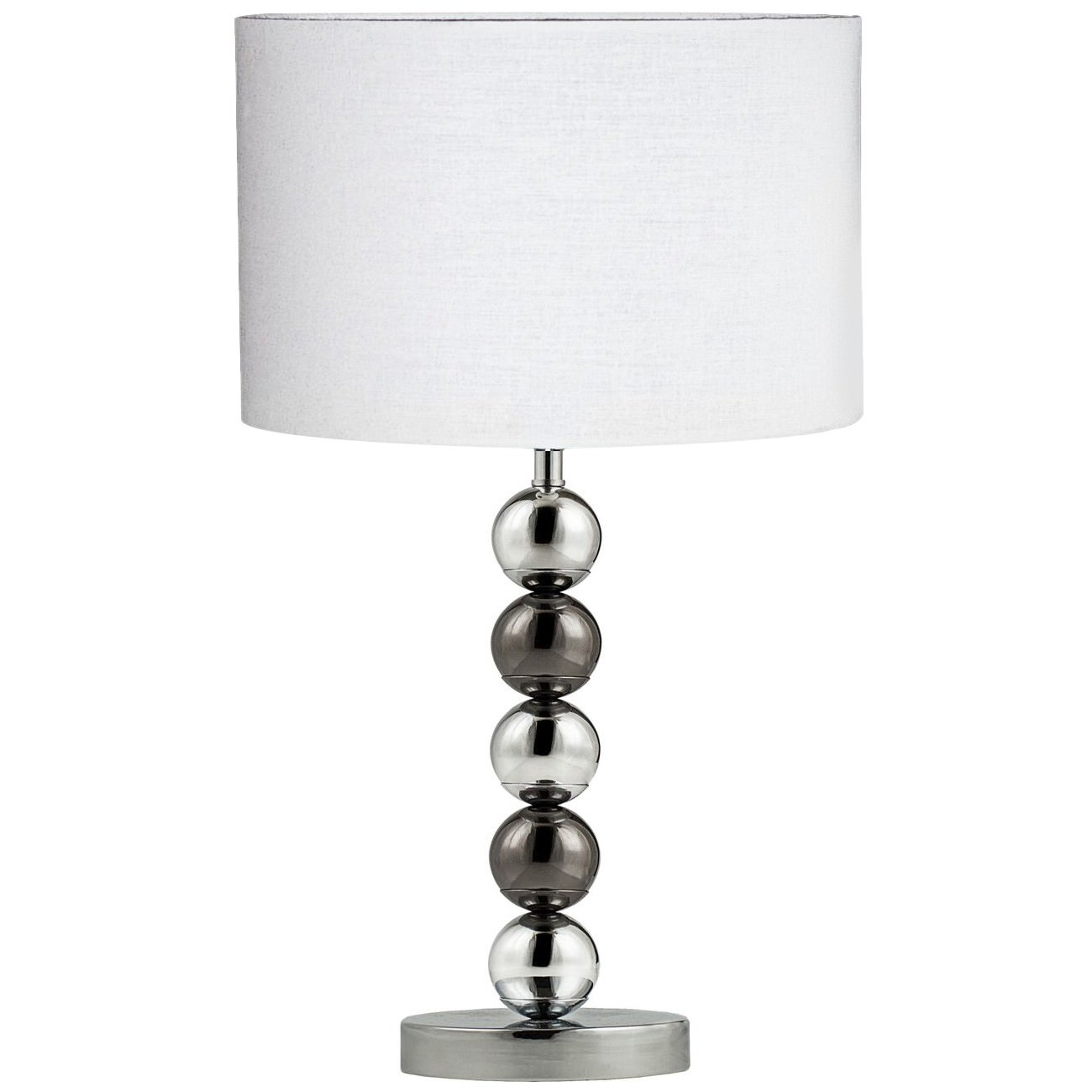 Maxi Marrisa Metal Base Table Lamp, White