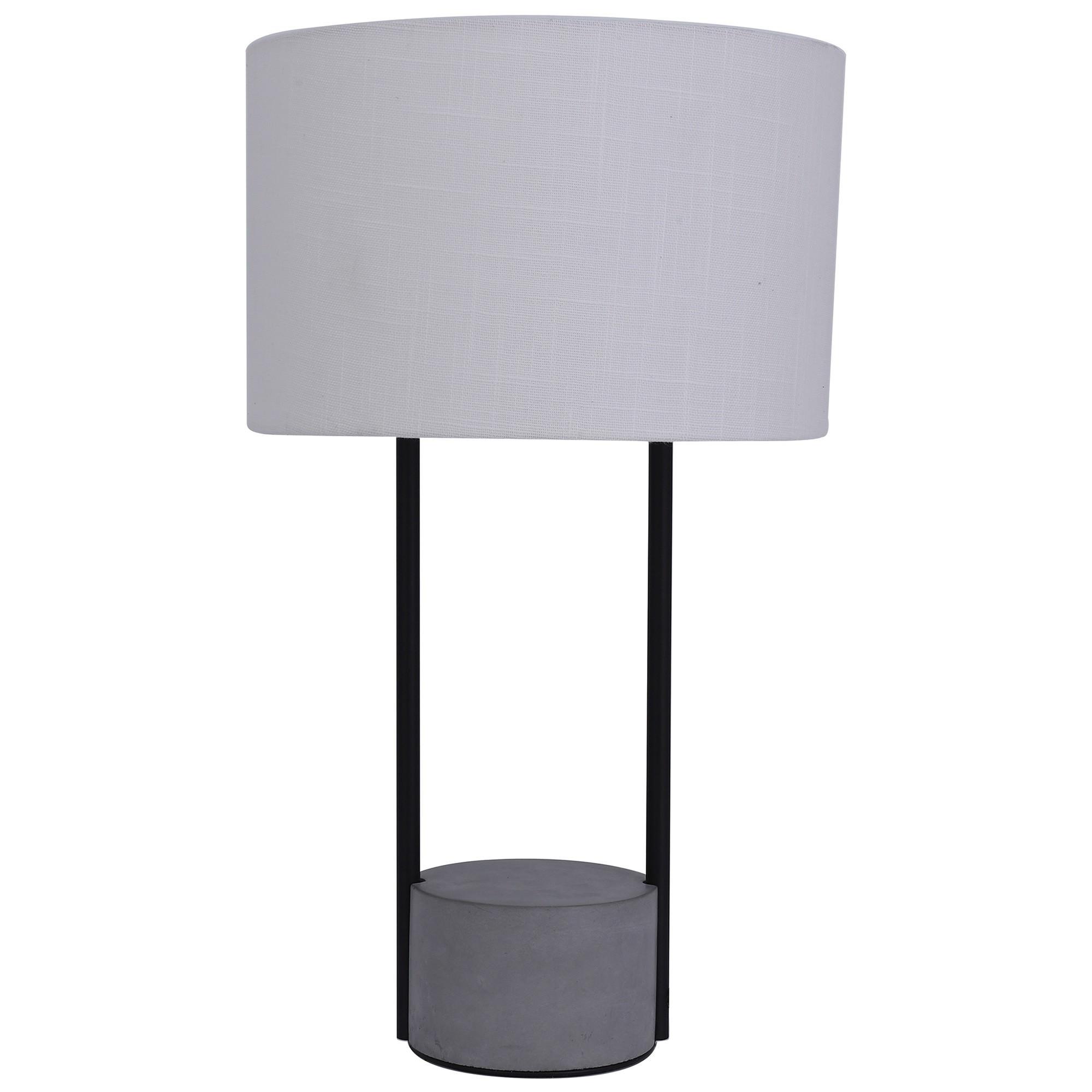 Maya Concrete Base Table Lamp