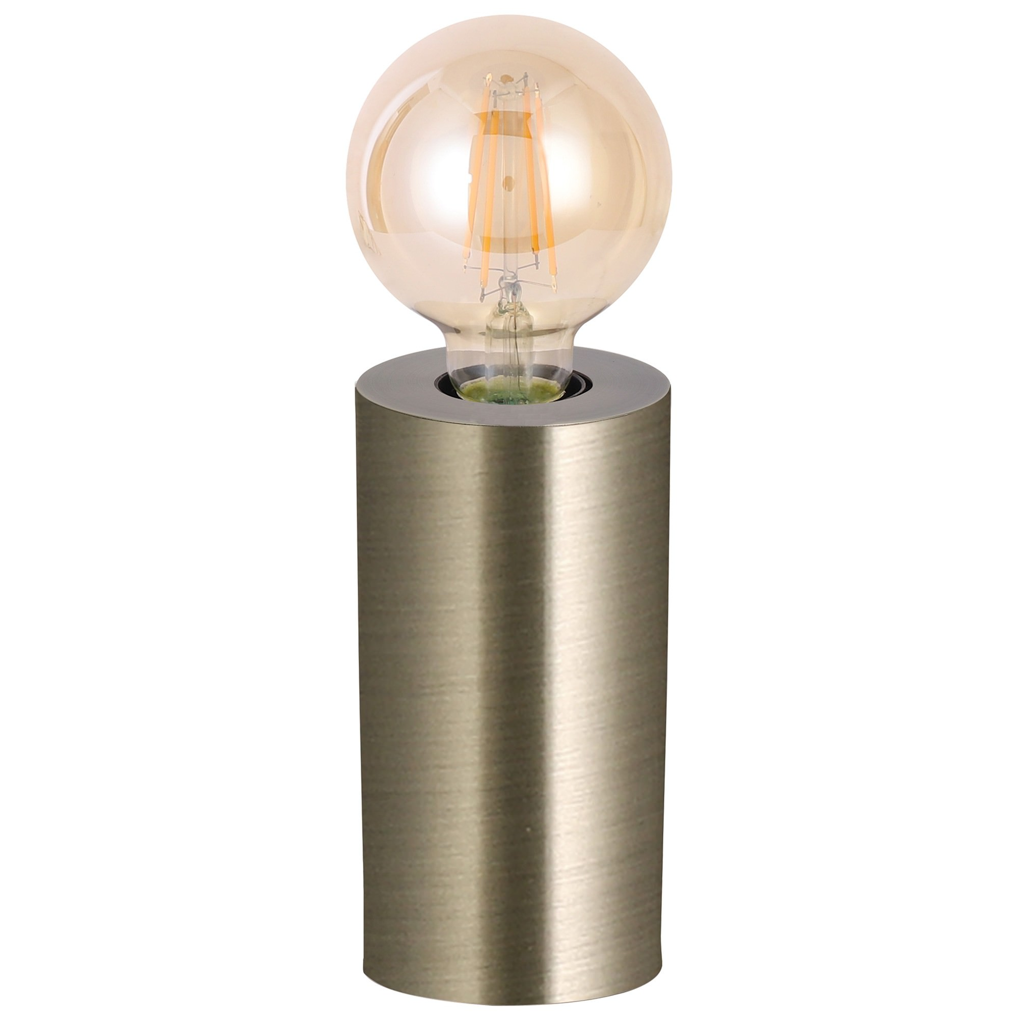 Marlo Metal Touch Table Lamp, Antique Brass