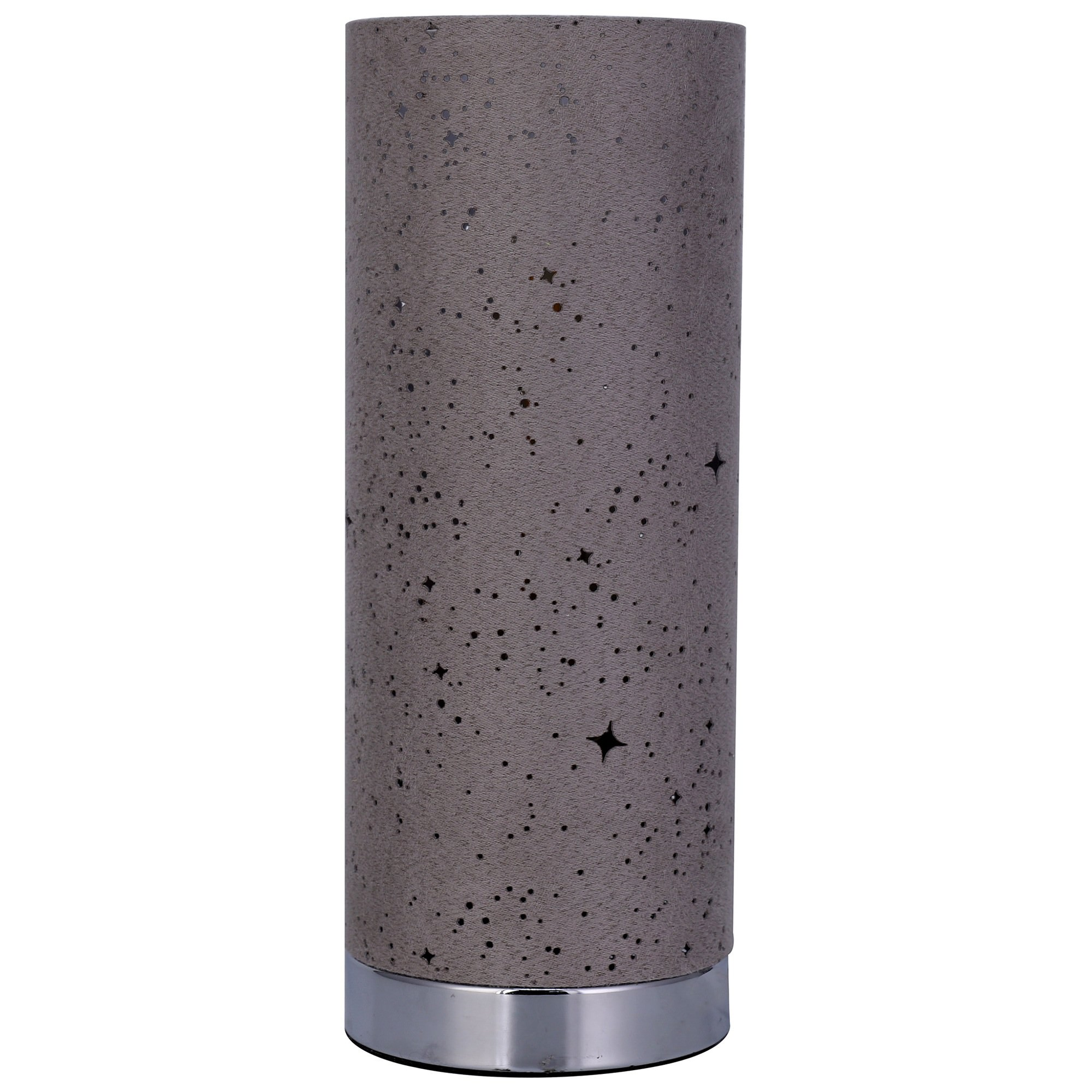 Alice Fabric Touch Table Lamp, Grey