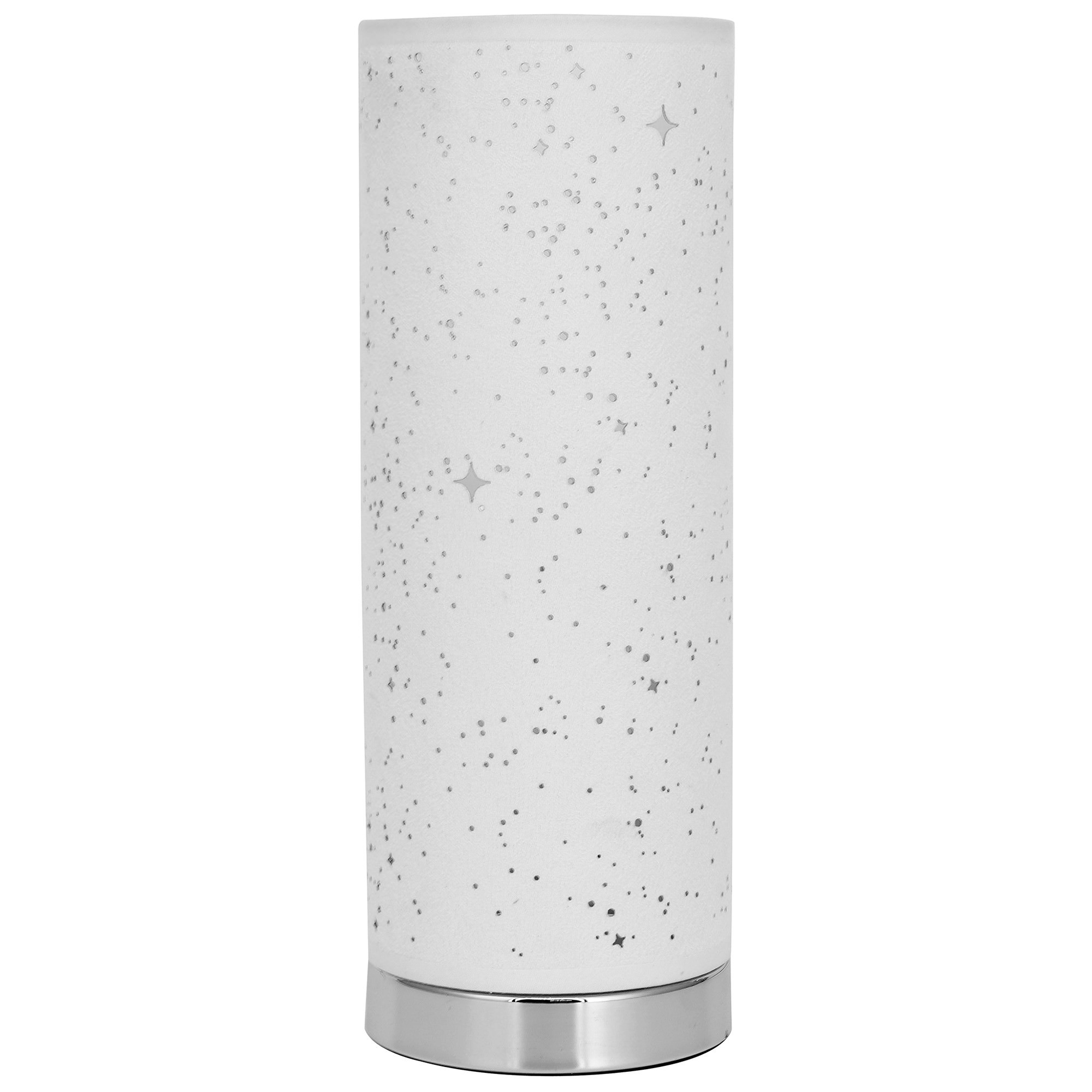 Alice Fabric Touch Table Lamp, White