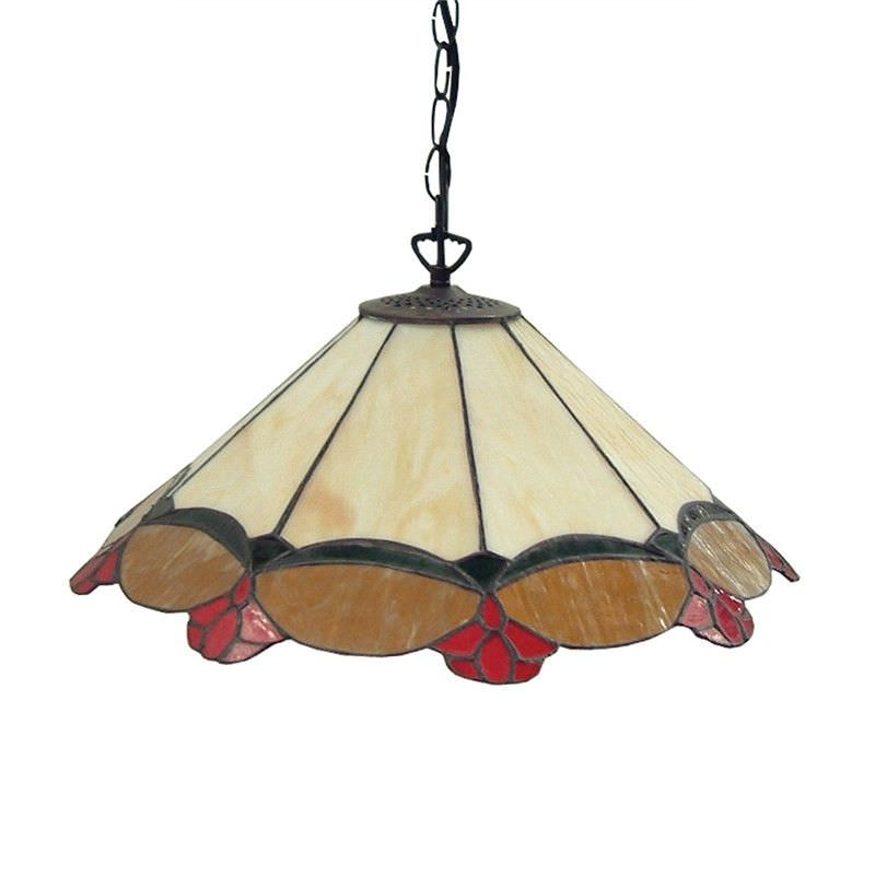 St Louis Modern Glass Lead Ceiling Light - 45cm Shade