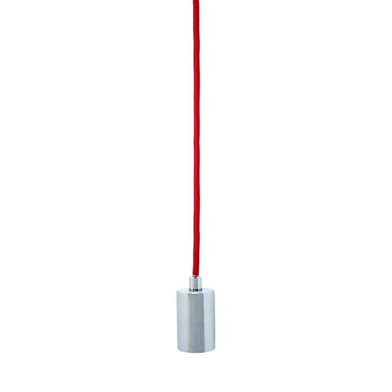 Pharos Iron Pendant Light, Red