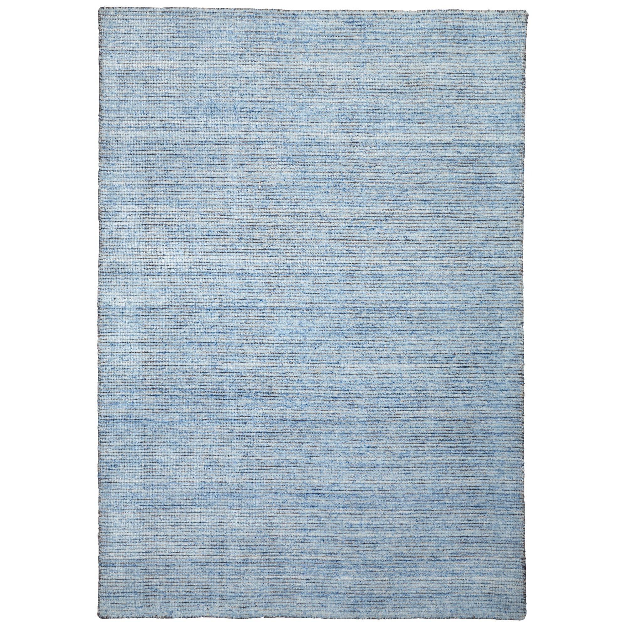 London Wool Rug, 225x155cm, Blue