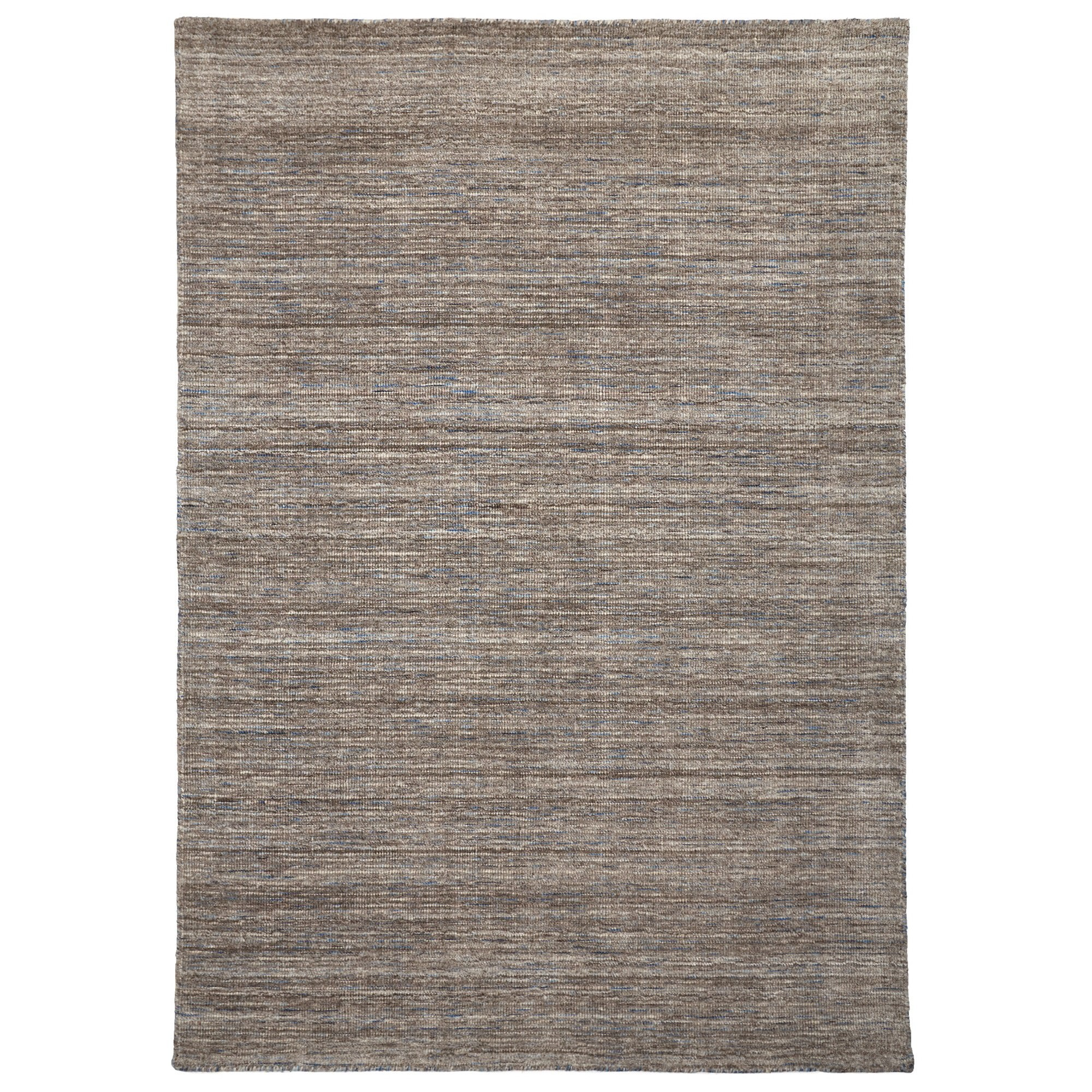 London Wool Rug, 160x110cm, Fawn