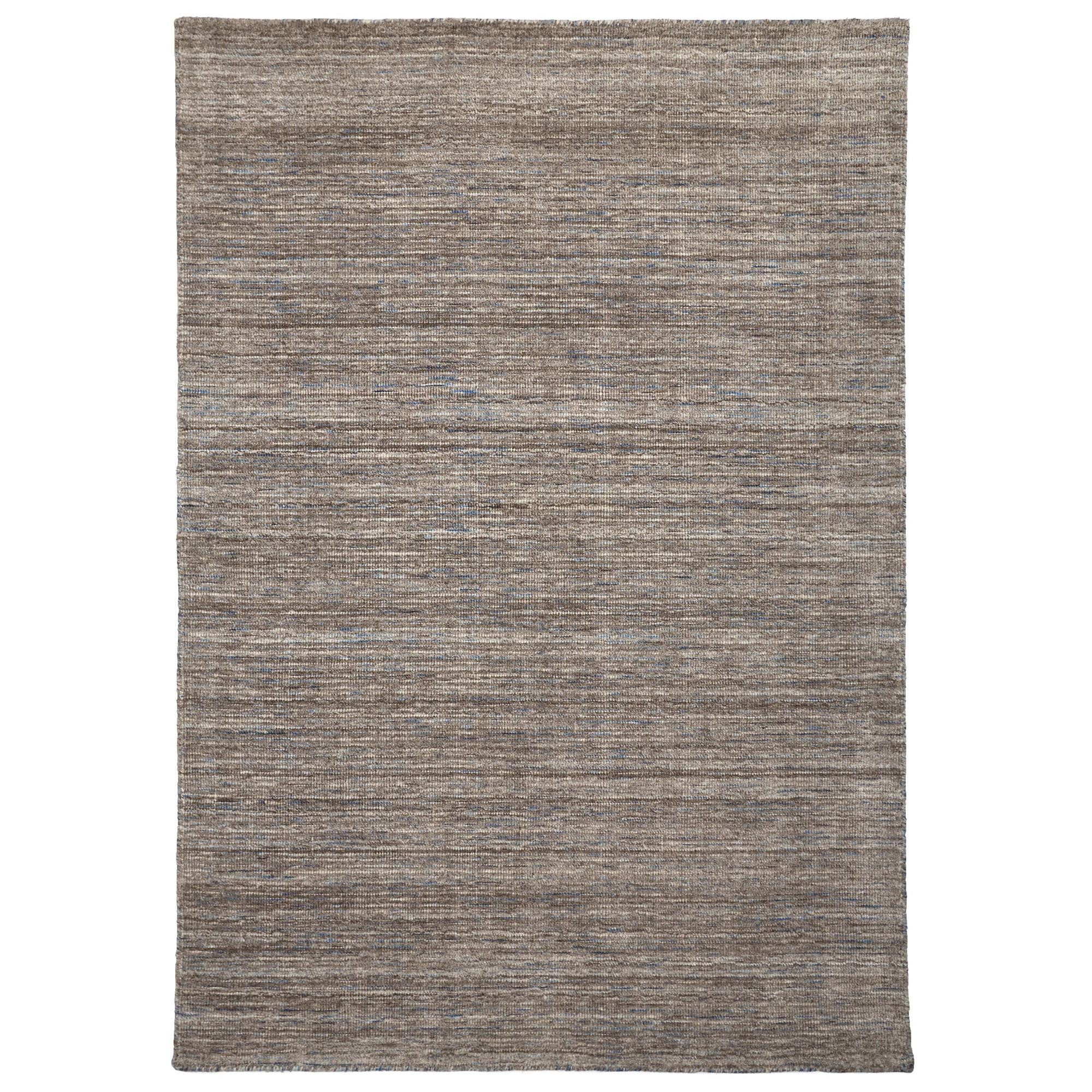 London Wool Rug, 225x155cm, Fawn