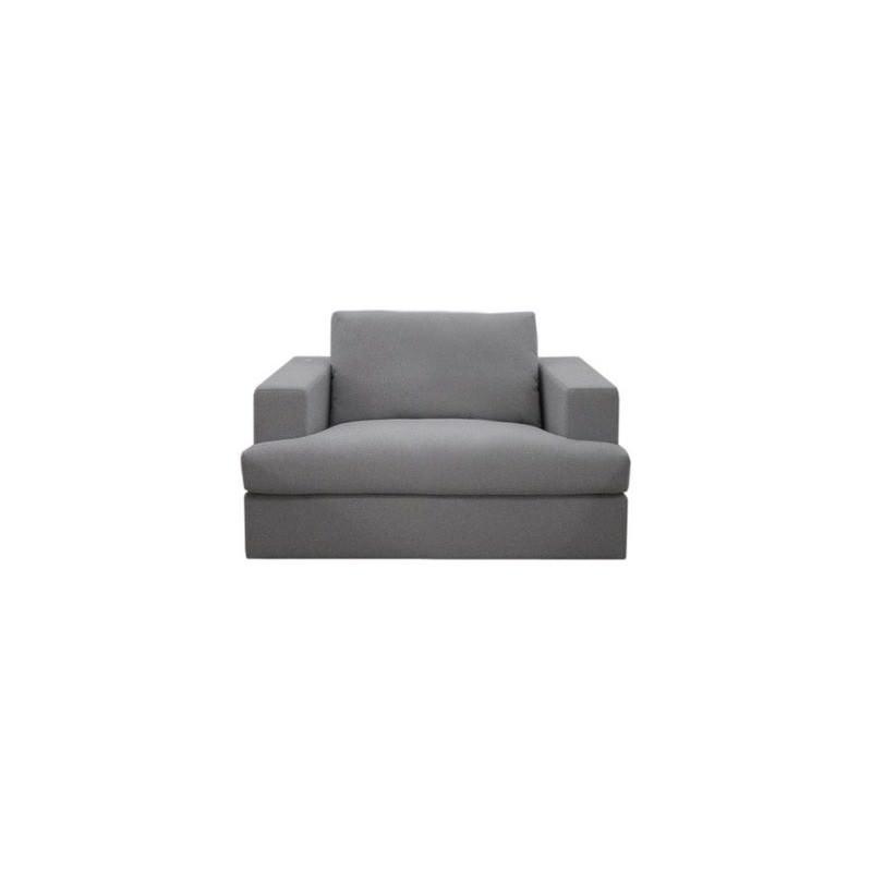 Dan Fabric Armchair, Cloud
