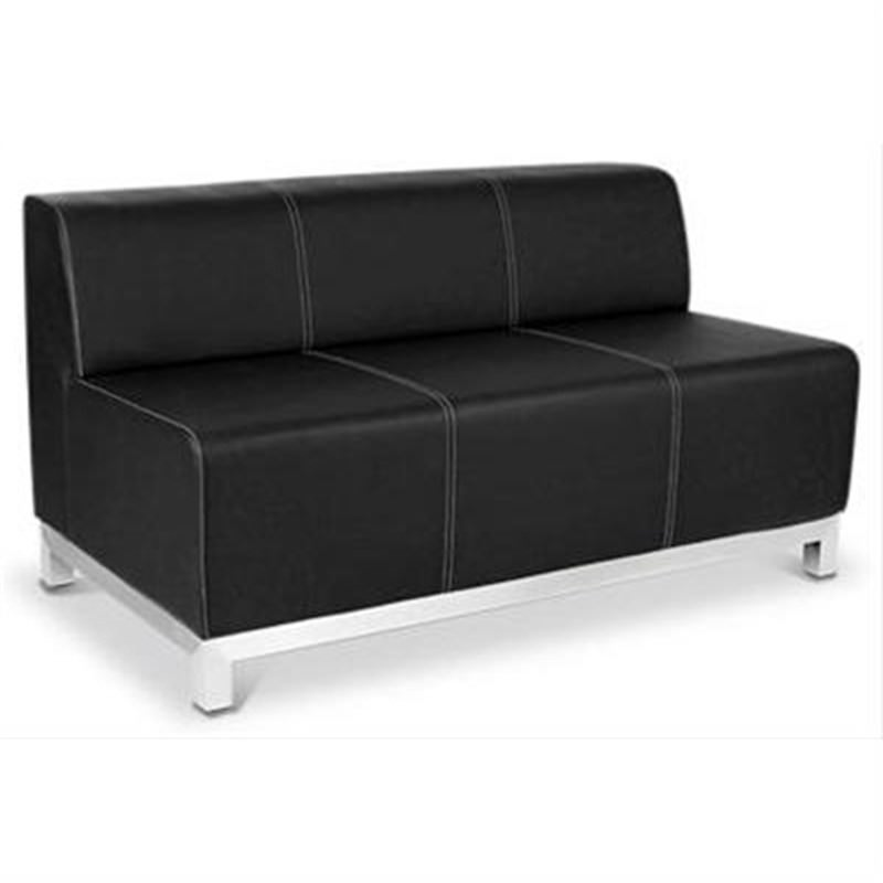 Orlando Lounge - 2.5 Seater in Black Commercial Grade