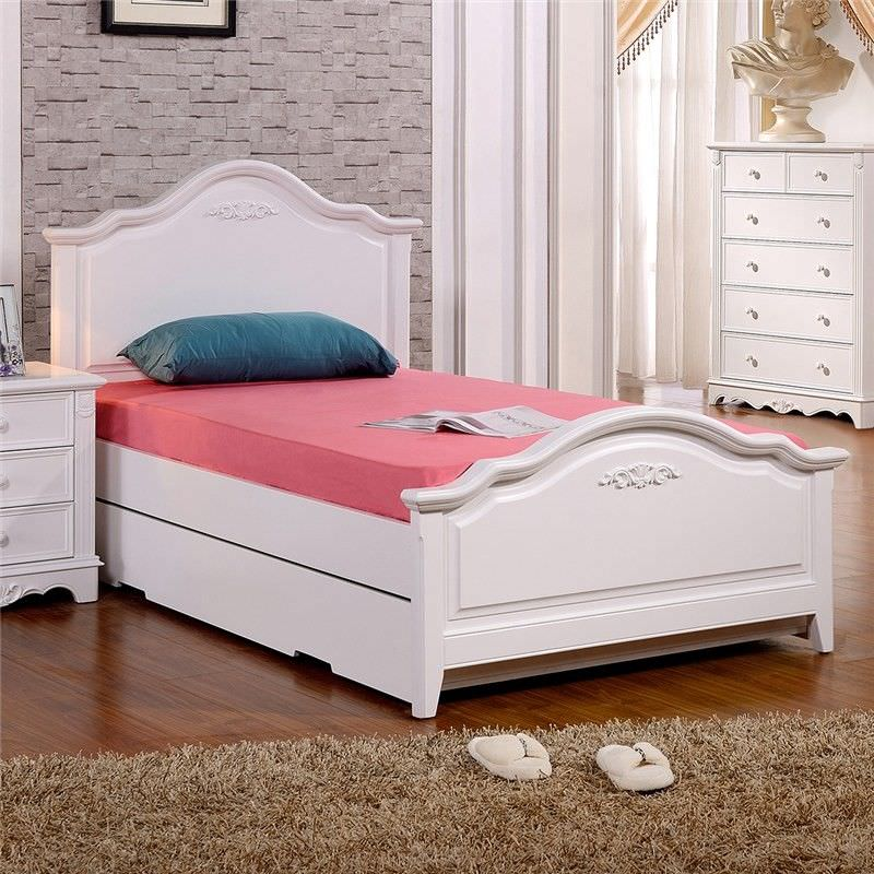 Melato Bed without Trundle, King Single