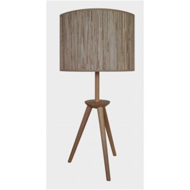 Tripod Table Lamp - Natural